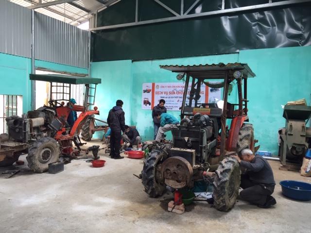 Ngày hội Dịch vụ sửa chữa lưu động, Công ty Công Nông nghiệp Hà Nội