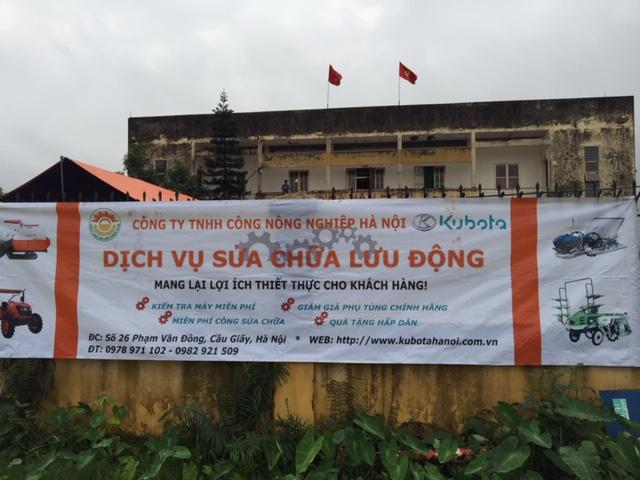 Ngày hội Dịch vụ sửa chữa lưu động tại thôn Quảng Nguyên, xã Quảng Phú Cầu, Hà Nội